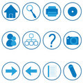 Free Web Icons Stock Images - 13907564