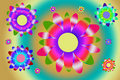 Free Colorful Flowers (with Clipping Path) Stock Photography - 13908612