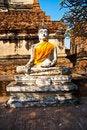Free Buddha Statue At Temple Of Wat Mongkol Stock Image - 13909141