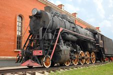 Free Old-time Locomotive Royalty Free Stock Photo - 13900025