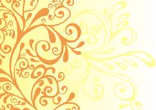 Free Brown And Yellow Ornament Royalty Free Stock Photo - 13900825