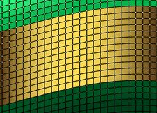 Green And Golden Frame Stock Image