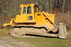 Free Bulldozer Stock Photo - 13902060