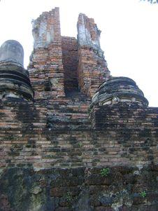 Free Ruin Pagoda Of Ayutthaya, Thailand Royalty Free Stock Images - 13903079