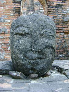 Free Ruin Buddha S Head In Ancient City, Thaiand Stock Photo - 13903080