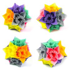 Free Origami Kusudama Flower Stock Photos - 13903873