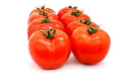 Free Tomatoes Royalty Free Stock Image - 13904076