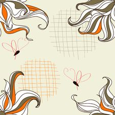 Free Floral Seamless Background Royalty Free Stock Image - 13904776