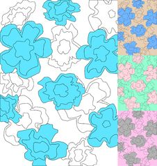 Free Floral Pattern Royalty Free Stock Images - 13906059