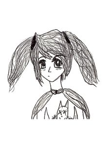 Free Pencil Drawing Anime Royalty Free Stock Image - 13906616