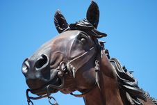 Free A Bronze Horse Statue Stock Photo - 13907230