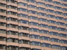 Free Brown Glass Windows Of Office Building Royalty Free Stock Image - 13907586