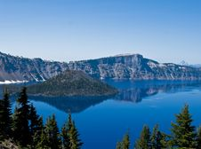 Free Crater Lake, Oregon Royalty Free Stock Photography - 13907997