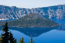 Crater Lake, Oregon Stock Image