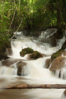 Free Phatat Waterfall In Kanchanaburi, Thailand Stock Photos - 13908063
