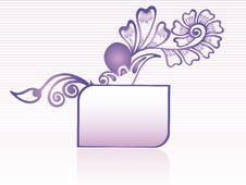 Free Vintage Floral Frame Illustration Stock Photos - 13908483