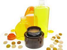 Free Spa Hair Mask Tonic Soap Stock Photography - 13908652