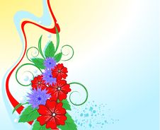 Free Bright Bouquet Of Wildflowers Royalty Free Stock Image - 13908666