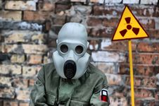 Nuclear Tourist Stock Image