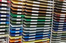 Free Set Of Colored Papers Stock Image - 13908911