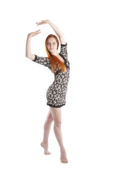 Free Performance Of A Ballerina Royalty Free Stock Images - 13909009