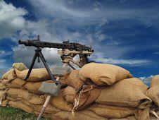 Free Machine Gun Royalty Free Stock Photo - 13909145