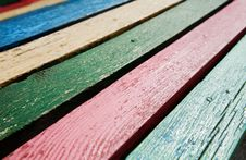 Free Color Wooden Boards Stock Photography - 13909342
