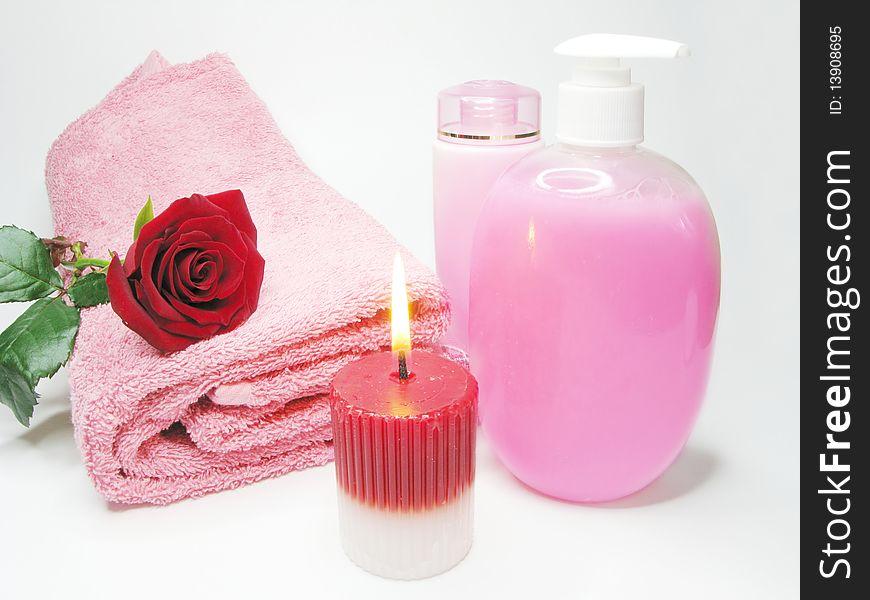 Spa face tonic liquid soap