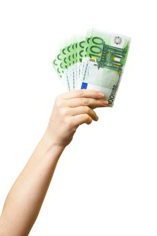 Free Money In Hand Stock Photo - 13910030