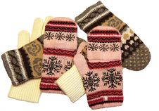 Free Knitted Gloves Stock Photo - 13910650