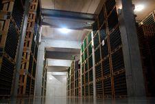 Free Modern Wine Cellar Stock Photos - 13911473