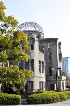 Free Dome Of Hiroshima Stock Images - 13911794