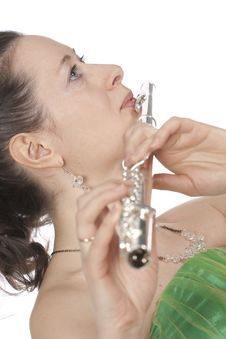 Free Flautist Royalty Free Stock Images - 13912249