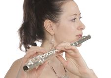 Free Flautist Stock Photo - 13912280