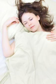Free Young Woman Sleeping Stock Photos - 13912363