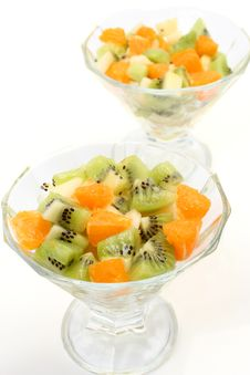 Free Salad Of Their Fruit Royalty Free Stock Photos - 13912398