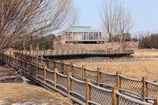 Free Bridge Corridor Royalty Free Stock Photo - 13912885