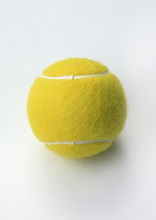Free Yellow Tennis Ball Stock Images - 13913584