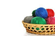 Free Woollen Balls Stock Images - 13913624
