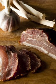 Free Gammon Slices Stock Images - 13914114