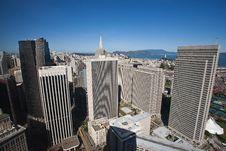 Free Embarcadero Center, San Francisco Royalty Free Stock Photo - 13914275