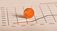 Coin And Stock Page Stock Images