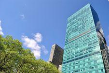 Free Skyscraper Over Bryant Park Stock Photo - 13915350