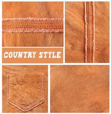 Free Velours Leather Stock Photos - 13915453