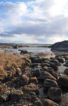 Free Wild Baltic Coast Stock Photos - 13915743