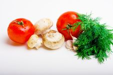 Free Useful Vegetables Royalty Free Stock Photos - 13916178