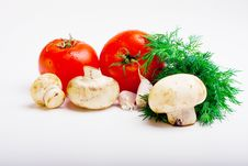 Free Useful Vegetables Royalty Free Stock Photos - 13916198