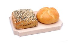 Free Two Different Types Of Bread Royalty Free Stock Image - 13916226