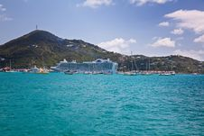 Free St. Thomas Island Harbor Royalty Free Stock Image - 13916666