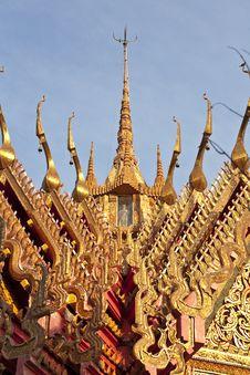 Free Thai Church Roof, Thailand Stock Photos - 13917003